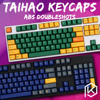 taihao abs double shot keycaps for diy gaming mechanical keyboard color of top gun danger zone hydro biochemistry radiation