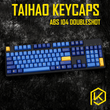 taihao abs doubleshot keycaps for diy gaming mechanical keyboard Nautilus