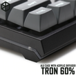 Tron 60% Anodized Aluminium acclive angle case for gh60 xd60 xd64