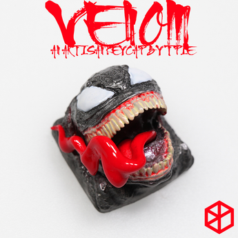 [Pre-order] T-Pai Venom theme Novelty Resin hand-painted mx keycap mechanical keyboards