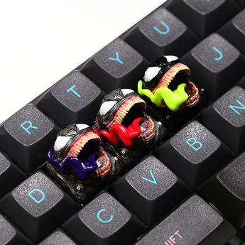 [CLOSED][GB] T-Pai Venom theme Novelty Resin hand-painted mx keycap mechanical keyboards