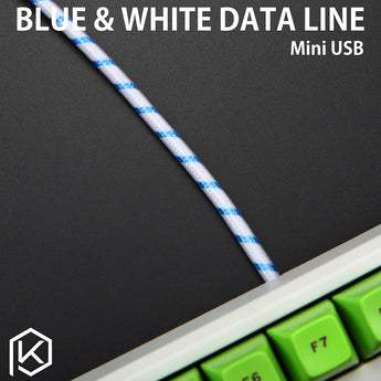 Whitefox Cable wire Mechanical Keyboard GH60 USB cable mini micro USB port for poker 2 GH60 keyboard kit DIY