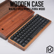 wooden case wood case walnut rosewood zebra wood with wood wrist high quality free shipping for gh60 xd64 poker 2 60%