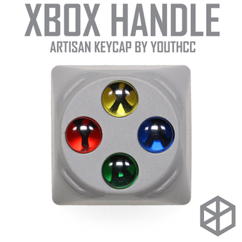 HAMMER XBOX HANDLE CONTROLLER ARTISAN KEYCAP Compatible with Cherry MX switches and clones