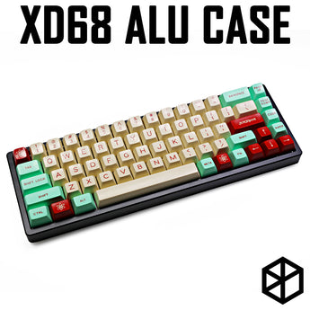 Anodized Aluminium acclive angle case for xd68 xiudi 65% pcb high profile