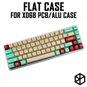 Anodized Aluminium flat case with metal feet for xd68 65%