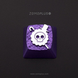 Zomo ONE PIECE inspired Artisan Keycap CNC anodized aluminum Compatible Cherry MX switches