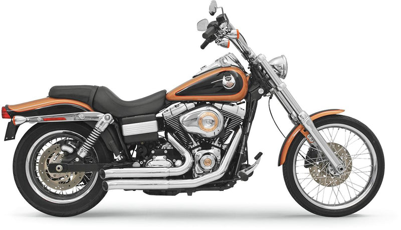 Chrome Bassani FireSweep Series Exhaust System - 13113D