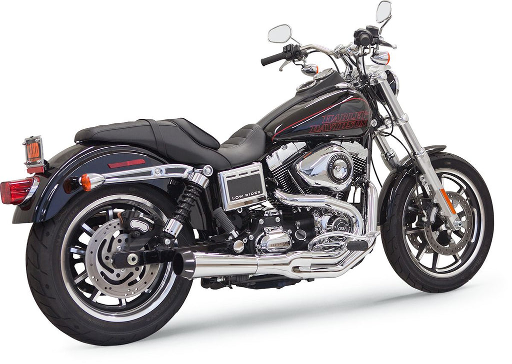 Chrome Road Rage II 2 into 1 System for Dyna for Tall Shocks