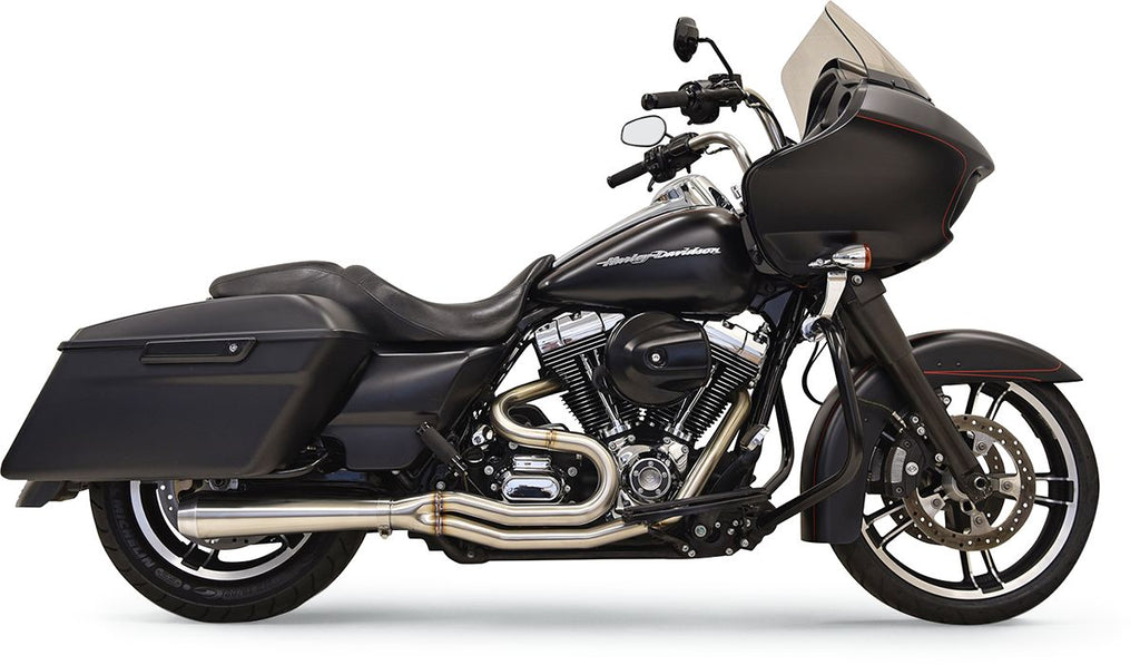 Road Rage 3 Stainless for Bagger with Short Megaphone Muffler