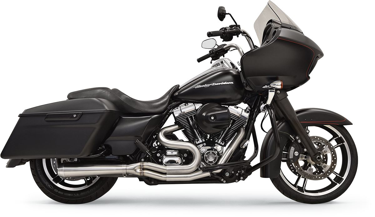 Road Rage 3 Stainless for Bagger with Short Megaphone 5-Speed Transmission