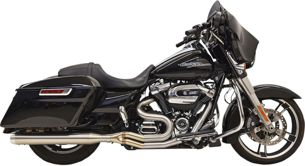 "Road Rage 3 Stainless for 2017-2019 Bagger with 4"" Straight Can Muffler"