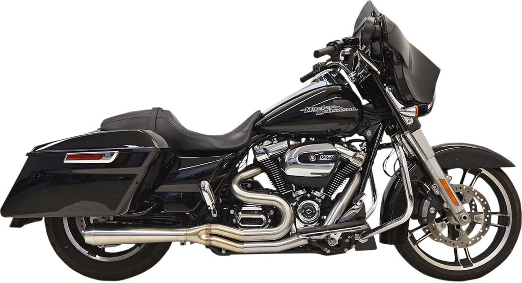 Road Rage 3 Stainless for 2017-19 Bagger with Short Megaphone Muffler