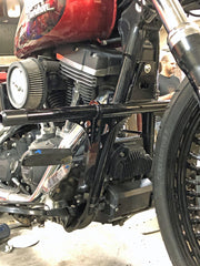 Highway Peg Crash Bar Dyna with Forward Controls