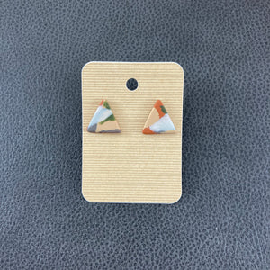 Nora Triangle Studs