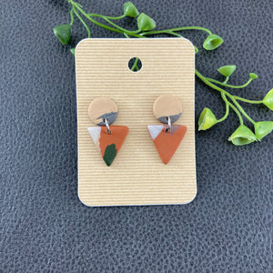 Triangle Dangle Earrings