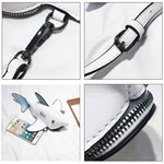 3D Shark Crossbody Bag Cross Body Bags Loom Rack