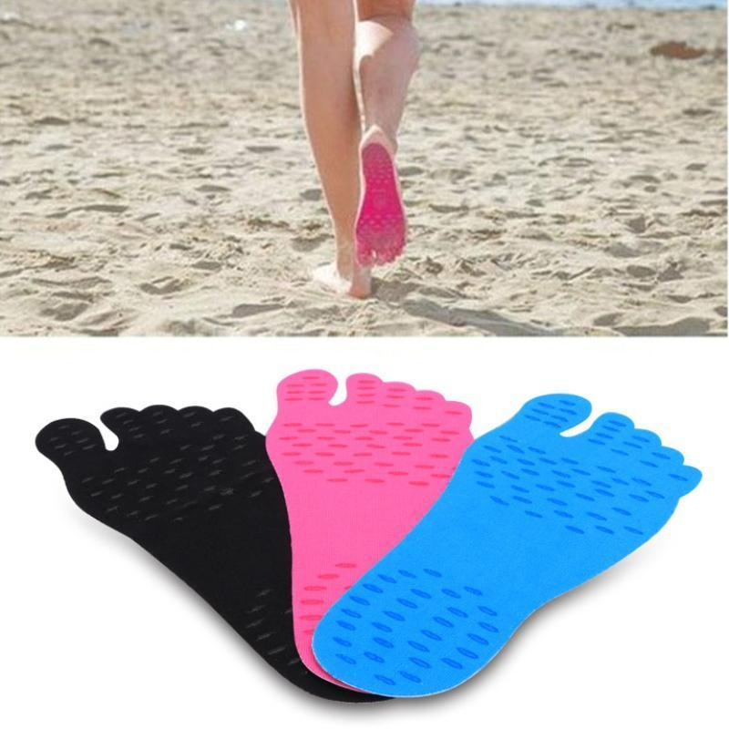 Adhesive Pads - Walk Barefoot Without Damaging Your Feet. Cotton Swabs Loom Rack