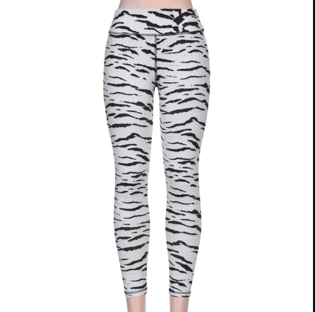 Animal Print Yoga Leggings Leggings Loom Rack