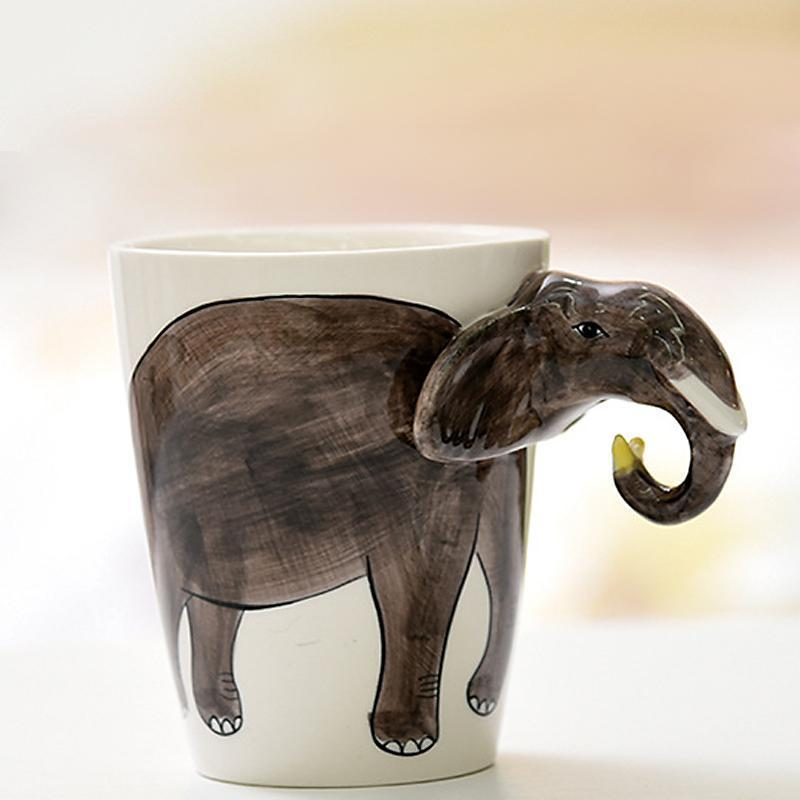 ANIMUGS Mugs Loom Rack Elephant