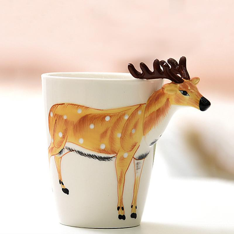ANIMUGS Mugs Loom Rack Sika deer