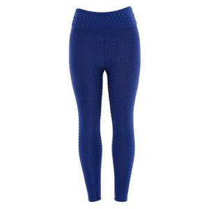 Anti Cellulite Leggings Leggings Loom Rack Blue S