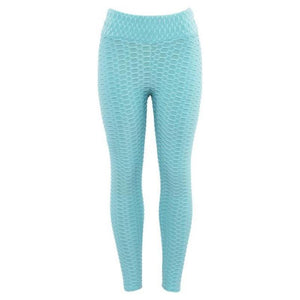 Anti Cellulite Leggings Leggings Loom Rack Sky Blue S