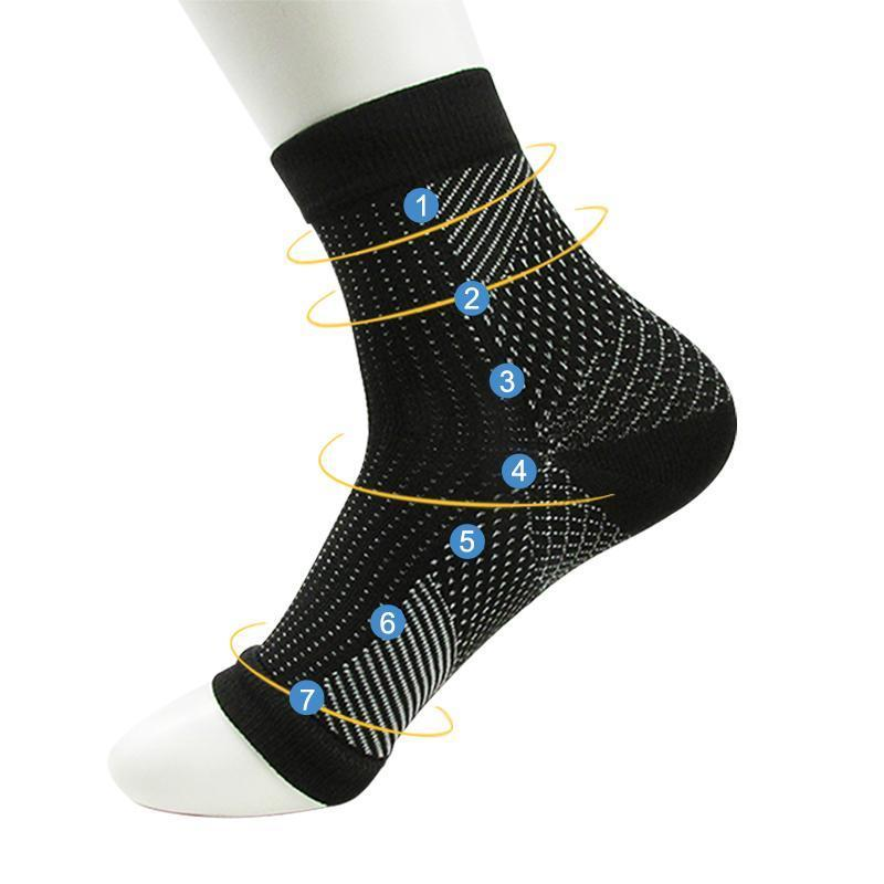 Anti-fatigue Compression Sock Sleeve Shoe Accessories Loom Rack