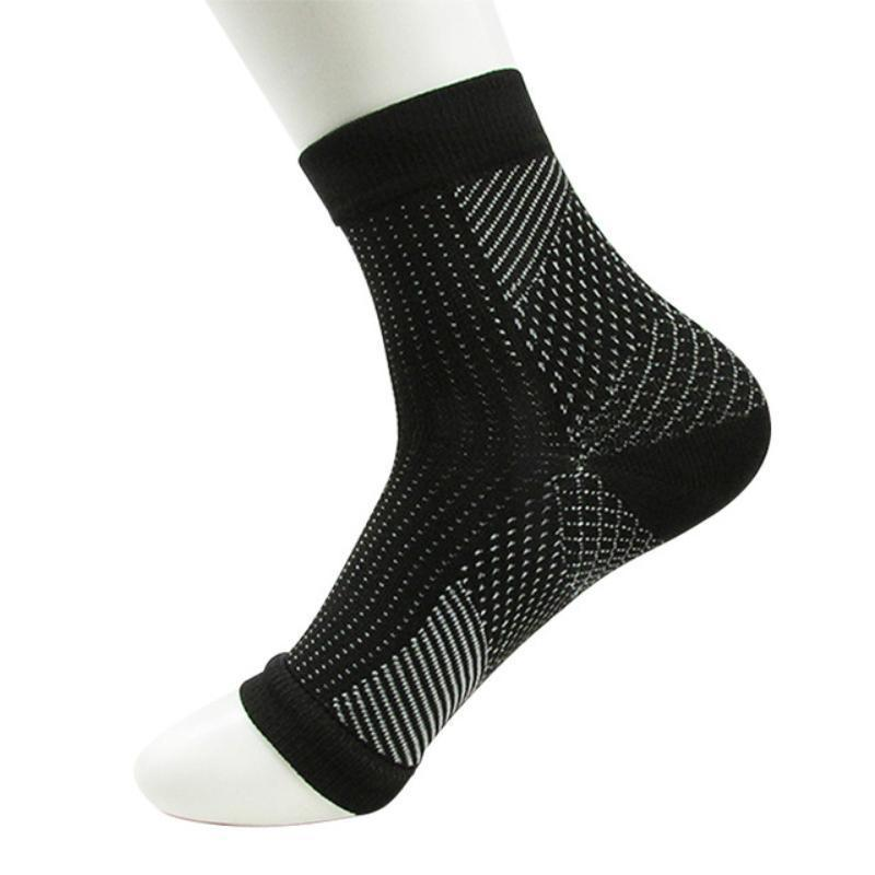 Anti-Foot Fatigue Compression Sock Socks Loom Rack M