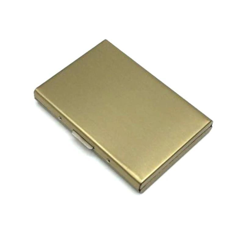 Anti RFID Wallet Wallet Loom Rack Gold
