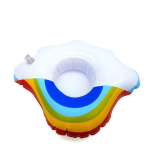 Assorted Floating Coasters Floating Coasters Loom Rack Rainbow Cloud