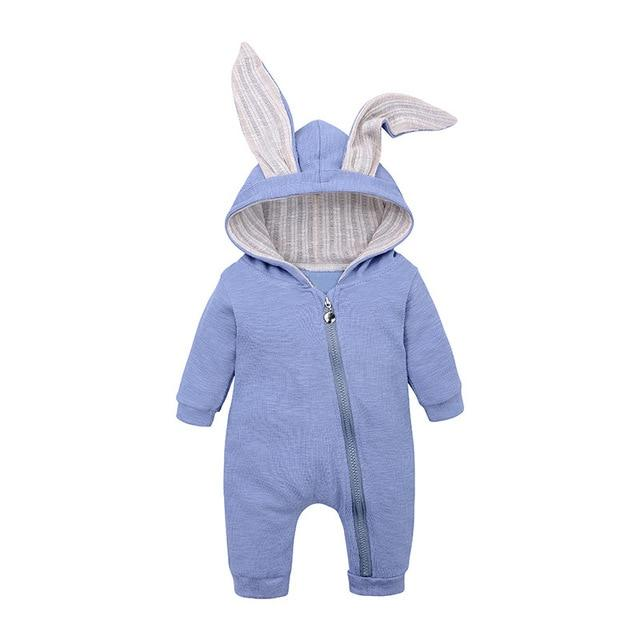 Autumn Winter Overall Baby Rompers Rompers Loomrack Blue 3M