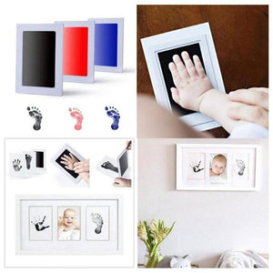 Baby Hand & Footprint Inkless Ink Pad Baby Accessories Loom Rack