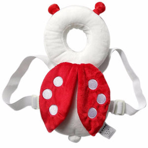 Baby Head Bump Protector Pillow Loom Rack Red