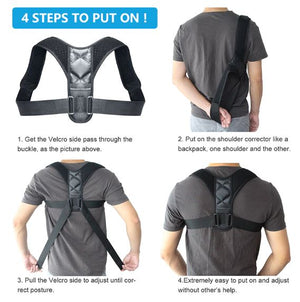 Back Posture Corrector Braces & Supports LoomRack