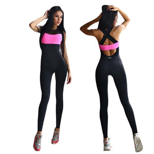 Backless Yoga Jumpsuit Yoga Sets Loom Rack