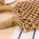 Basket Net Rattan Bag Rattan Bags Loom Rack