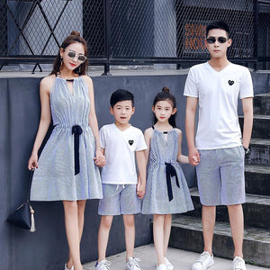 Beach House Stripe Family Outfit Matching Outfits Loom Rack