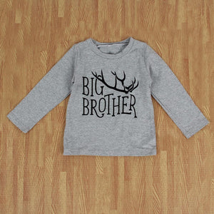Big Brother Little Brother Matching Outfit - Deer Antlers Matching Outfits Loom Rack