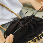 Bohemian Straw Basket Bag Rattan Bags Loom Rack