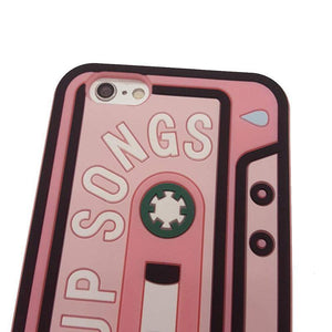 Breakup Songs iPhone Case - For iPhone SE / 5C / 5S / 6 / 6 Plus / 6S / 7 / 8 Plus Phone Cases Loom Rack
