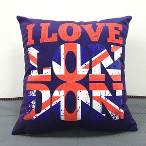 British Pillow Covers Cushion Cover Loom Rack A