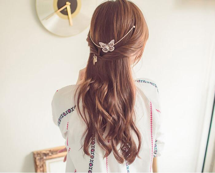 Butterfly Bridal Hair Accessory Hair Jewelry Loom Rack