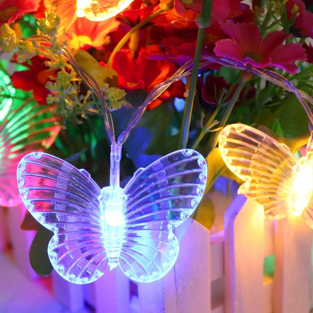 Butterfly Led String Lights Lighting Loom Rack