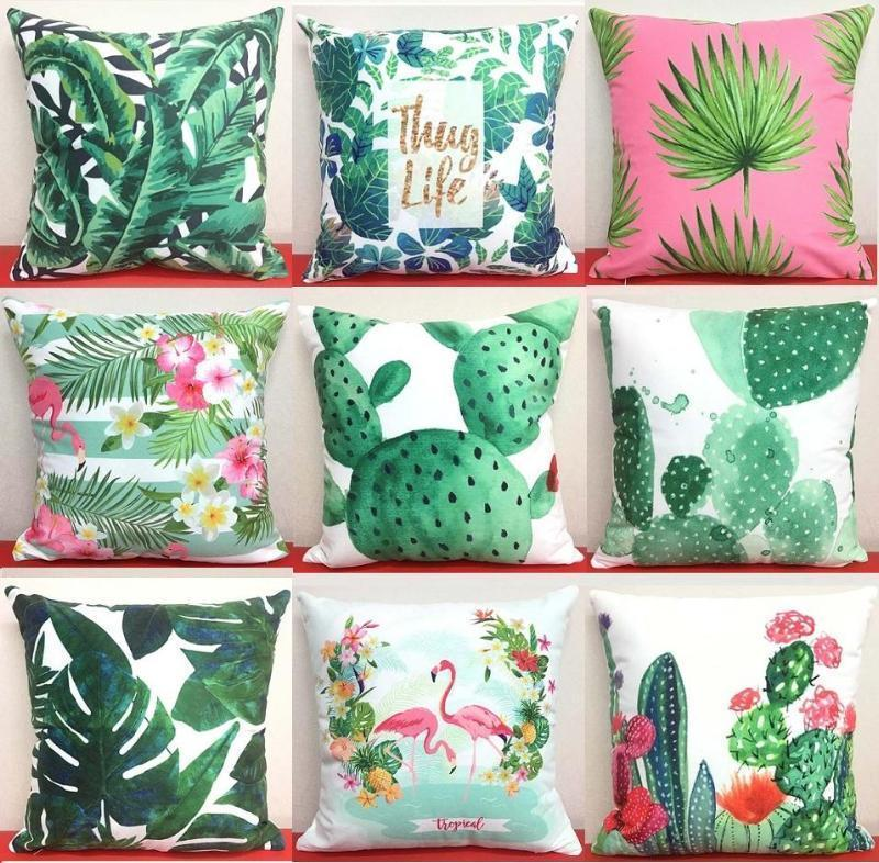 Cactus Pillow Covers Cushion Cover Loom Rack