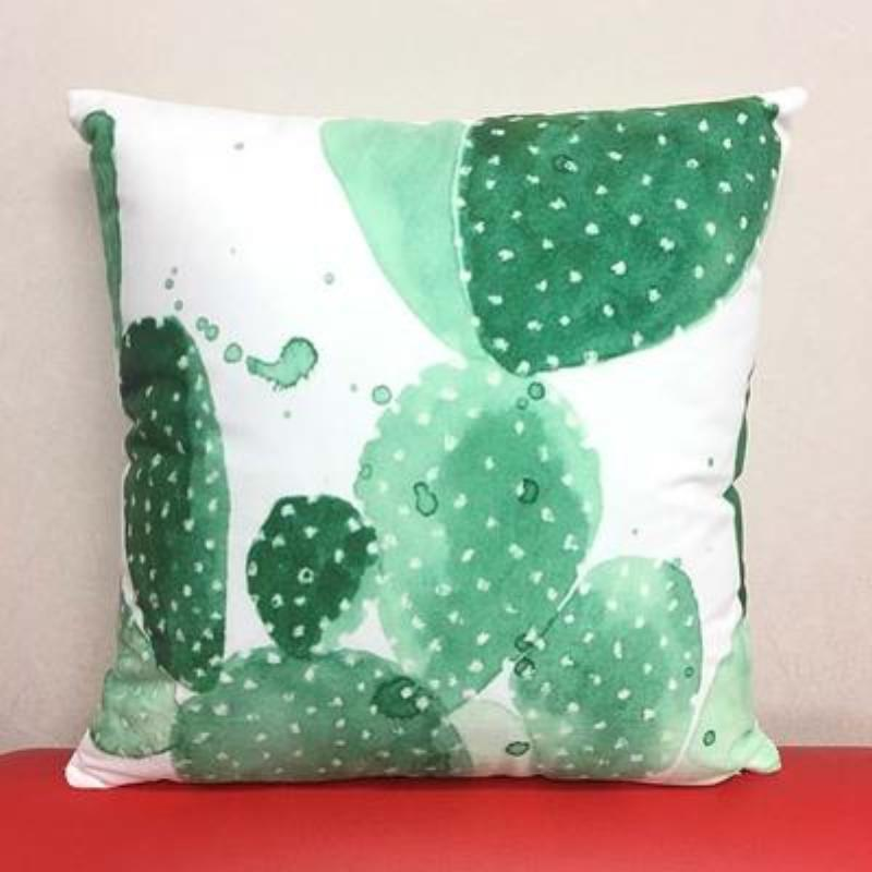 Cactus Pillow Covers Cushion Cover Loom Rack B