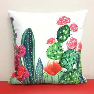 Cactus Pillow Covers Cushion Cover Loom Rack C