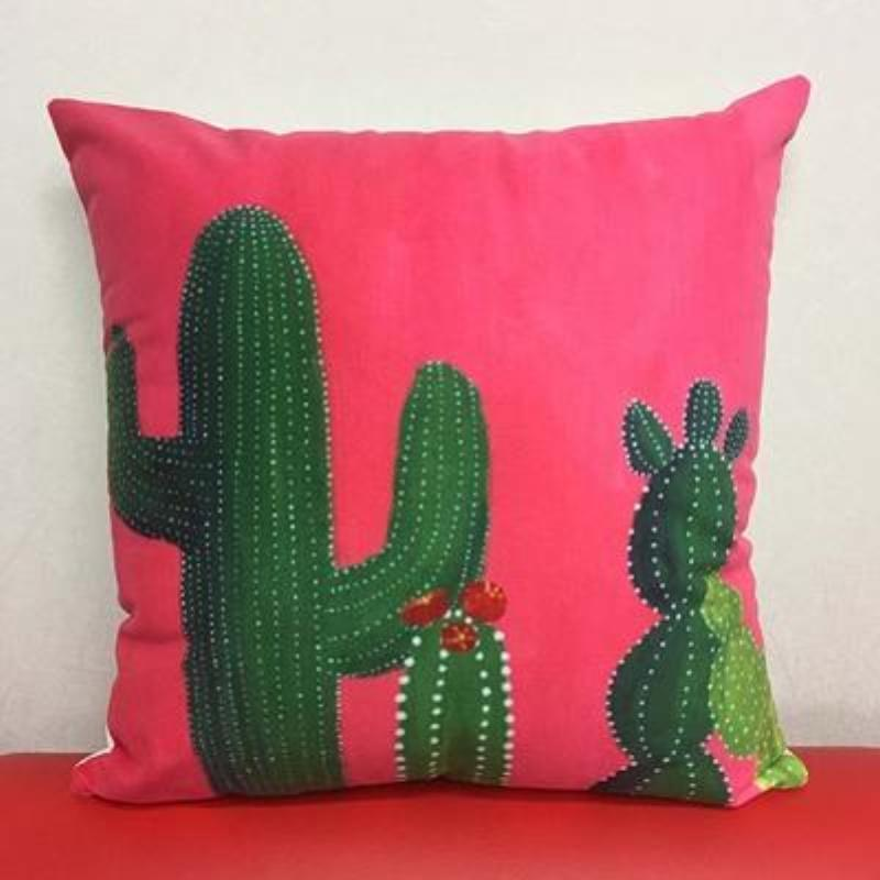 Cactus Pillow Covers Cushion Cover Loom Rack G
