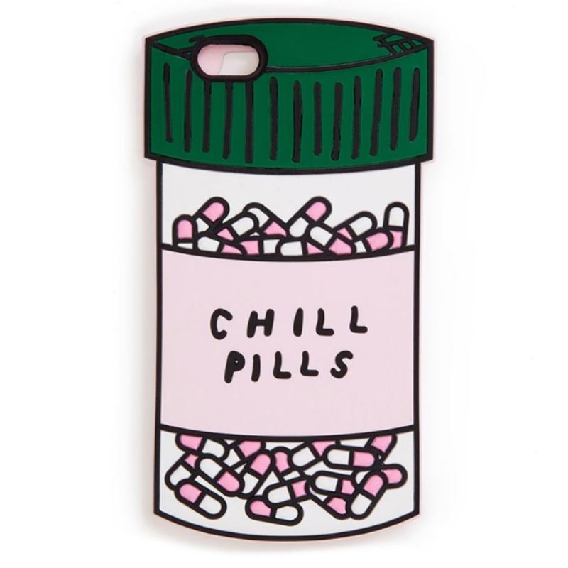 Chill Pill iPhone Case - For iPhone X / XR / XS Max / SE / 5C / 5S / 6 / 6 Plus / 6S / 7 / 8 Plus Phone Cases Loom Rack Chill Pill For iphone 5S