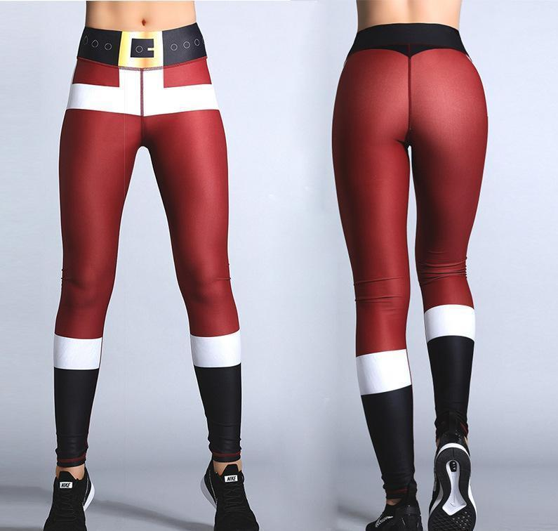 Christmas Leggings High Waist Christmas Leggings Loom Rack